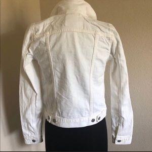 Levi's Trucker Jacket Women's Jean Denim White XS
